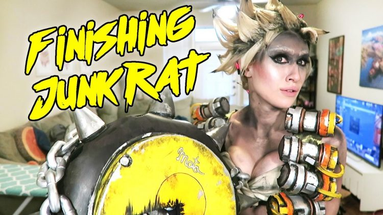 Finishing my Junkrat Cosplay [Overwatch]